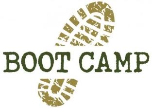 Logo, Boot Camp