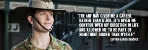 ADF Female Officer