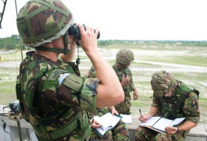 Exercise Auriga calling in Fire support held in the USA
