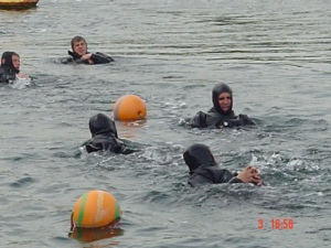 In-water Training.