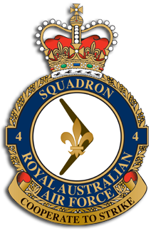 No.4 Sqn Badge