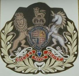 WO1 (ASM) REME Badge of Rank