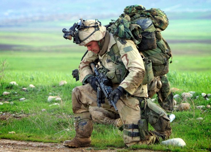 Soldier, Loaded Carry, Loaded March