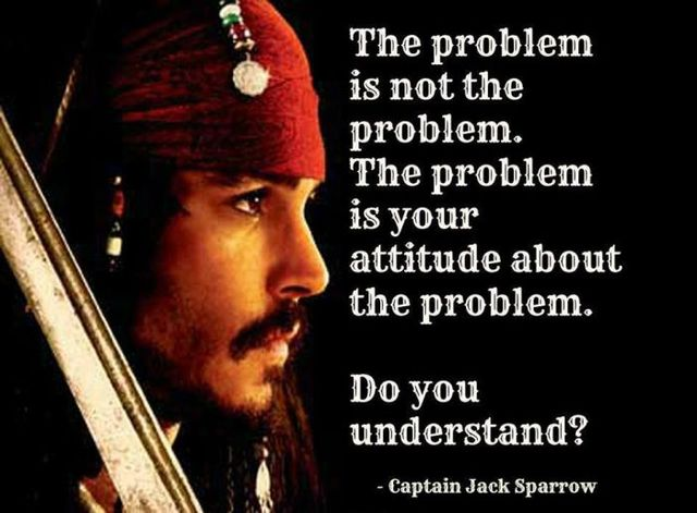 Problems, About Attitude