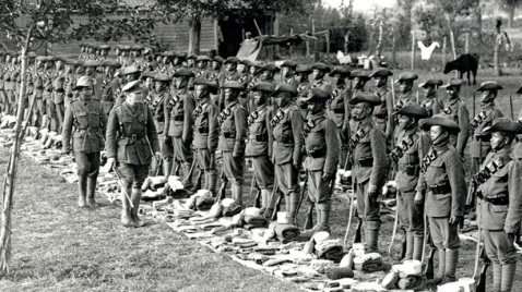 Gurkhas, Kit Inspection, Colonial, WWI