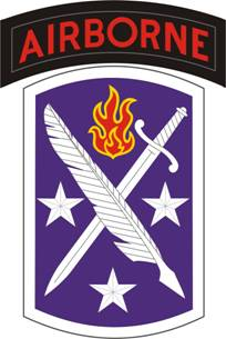 Logo, USASOC, 95th Civil Affairs Brigade
