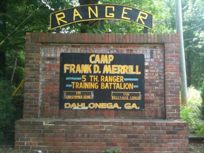 US Army Ranger, 5RTB, Camp Frank D. Merrill (1)