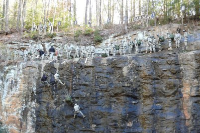 US Army Ranger, Climbing