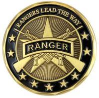 US Army Ranger, Medallion (1)
