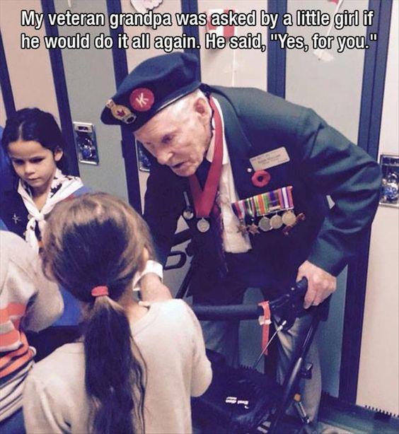 Make You Think, Veteran, World War II